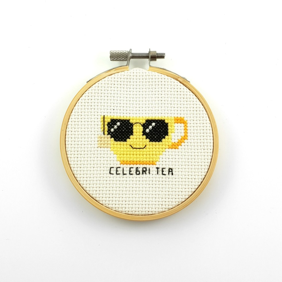 celebri tea cross stitch pdf pattern