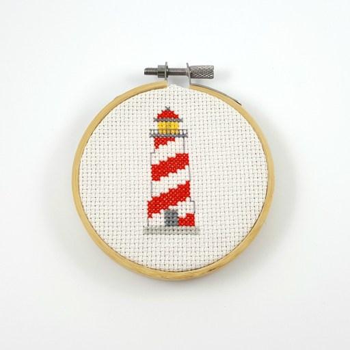 lighthouse cross stitch pdf pattern