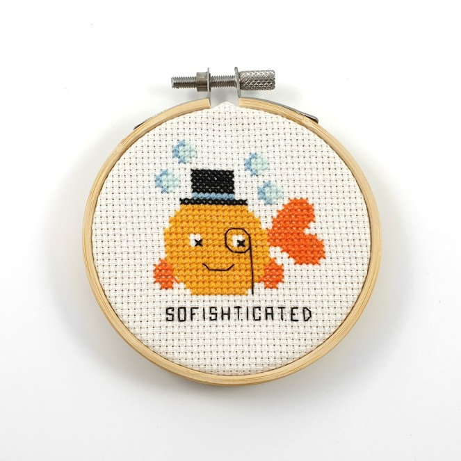 Sofishticated cross stitch pdf pattern