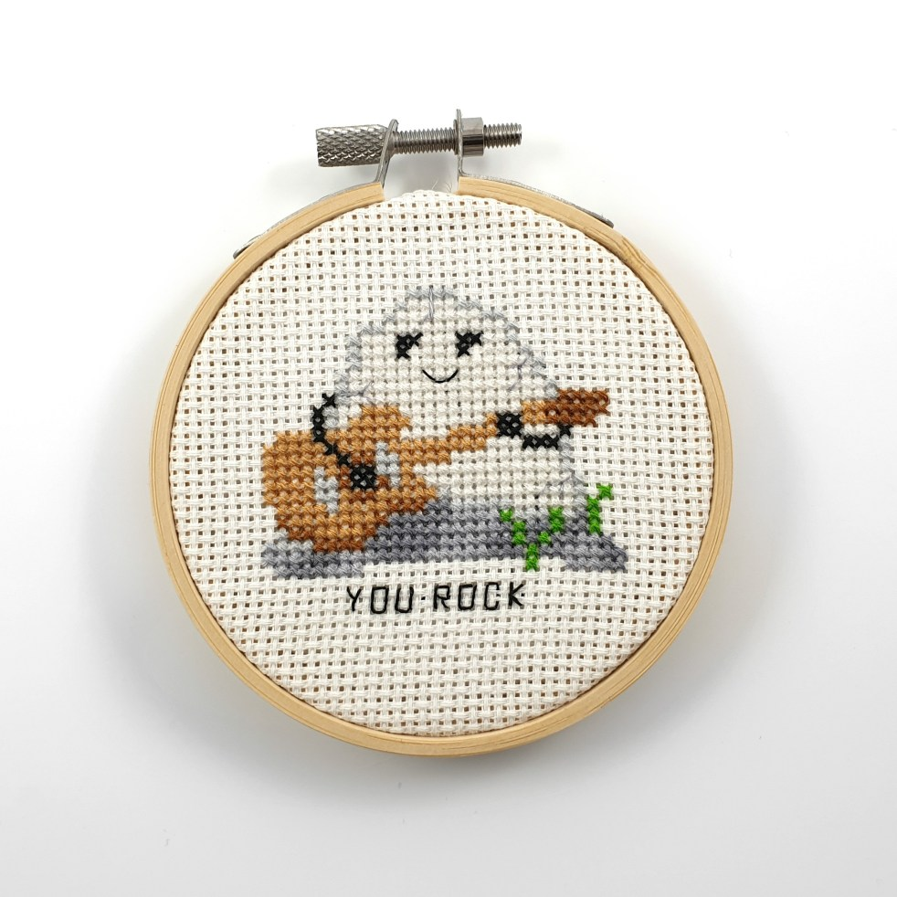 you rock cross stitch pdf pattern