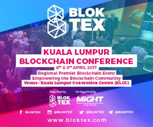 Bloktex kuala lumpur blockchain conference
