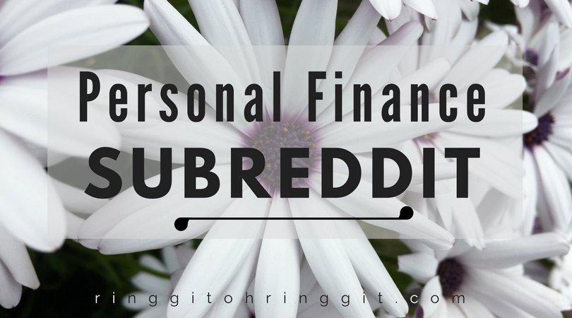 Personal finance subreddits