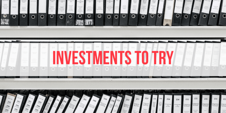 3 Investments I Want To Try (But Haven't)