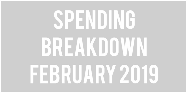 Budget Update: February 2019