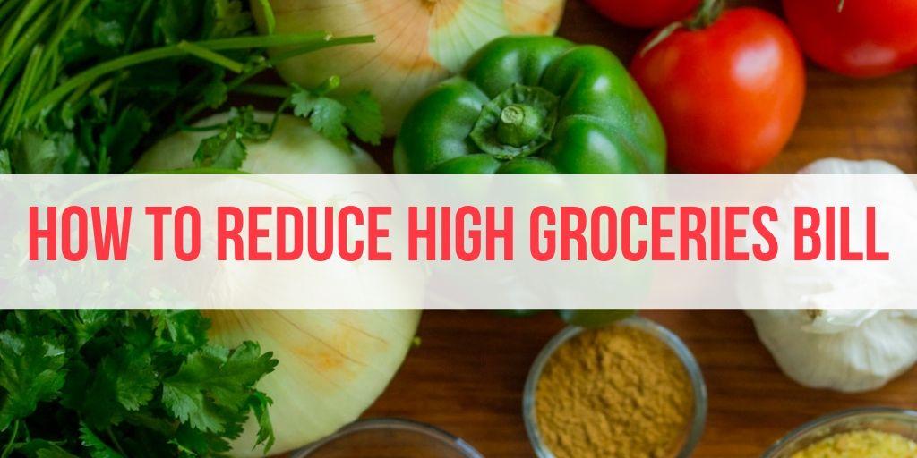 high groceries bill
