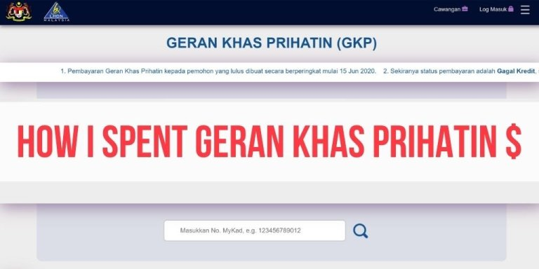 How I Applied for and Spent the RM3000 Geran Khas Prihatin Money for Small Biz