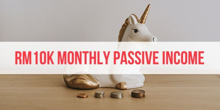 How to Get RM10000 per Month in Passive Income (In 3 Steps)