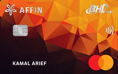 Affinbank BHPetrol 'Touch & Fuel' MasterCard Contactless credit card