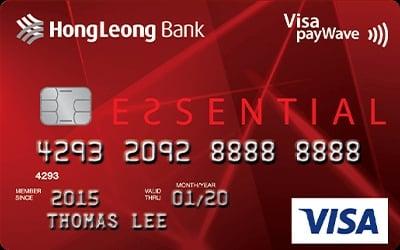 Hong Leong Essential - Unlimited Cashback