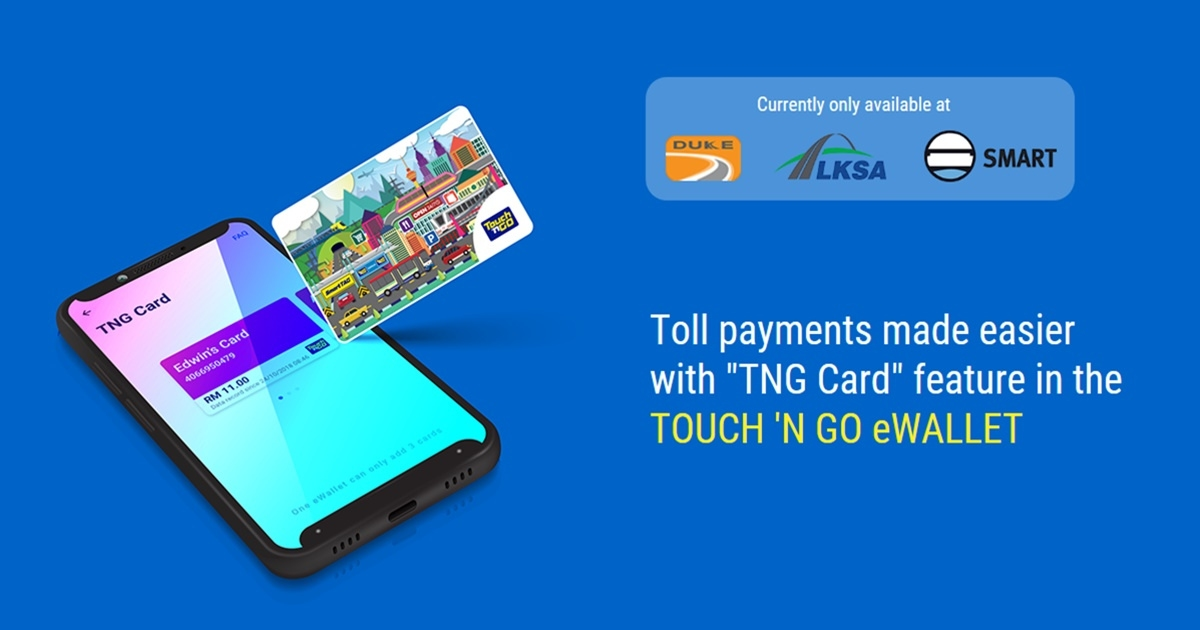 Users Can Now Pay For Tolls Using Balance In Touch N Go Ewallet At More Locations