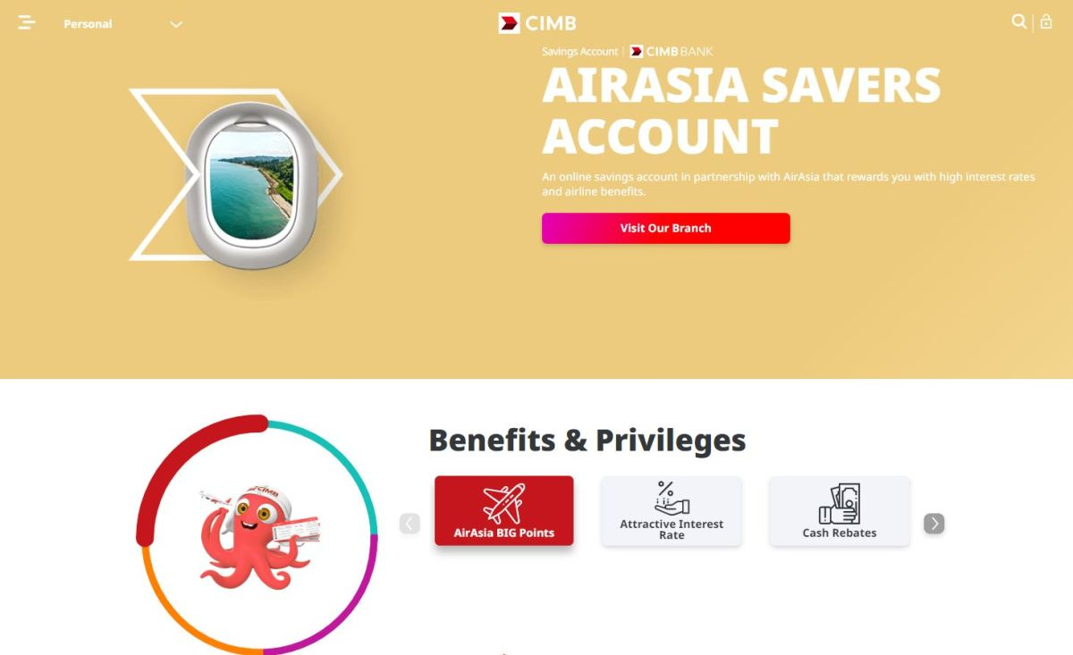 cimb airasia big loyalty points programme
