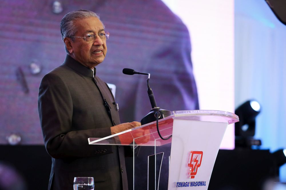datuk seri dr mahathir