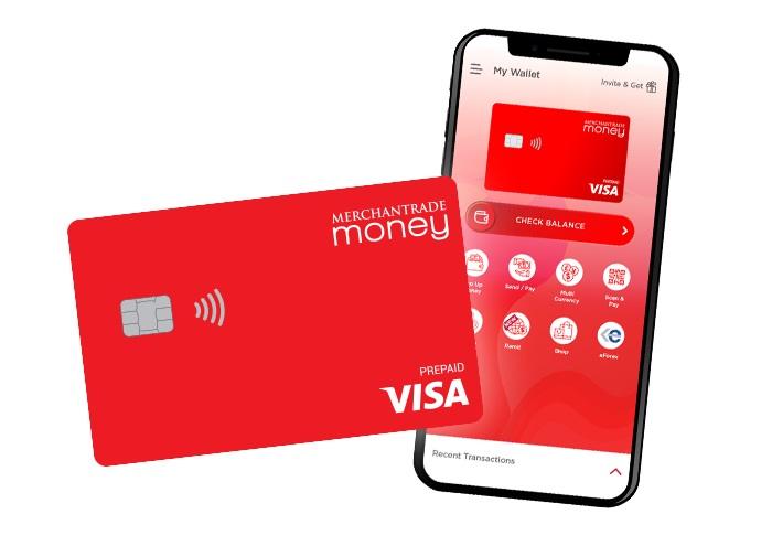 merchantrade money app and card