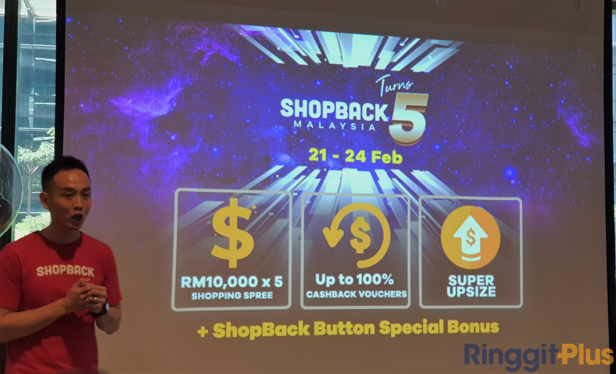 Shopback 5th anniversary