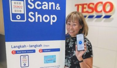 tesco scan and shop