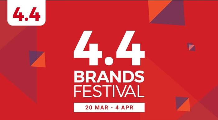 shopee 4.4 brand festival