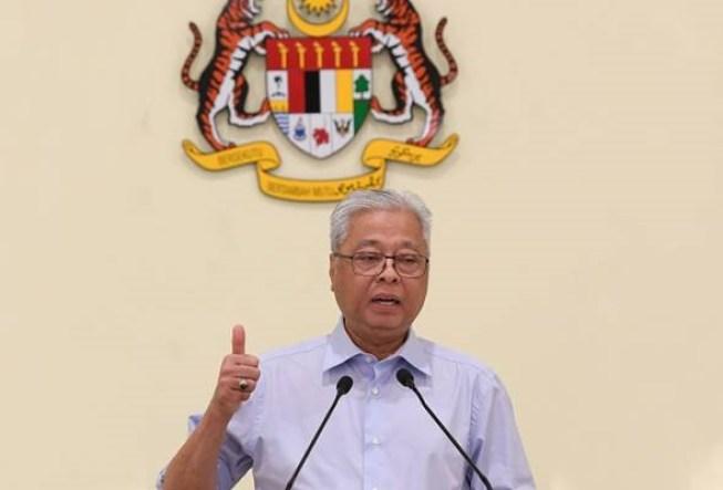 defence minister datuk seri ismail sabri yaakob