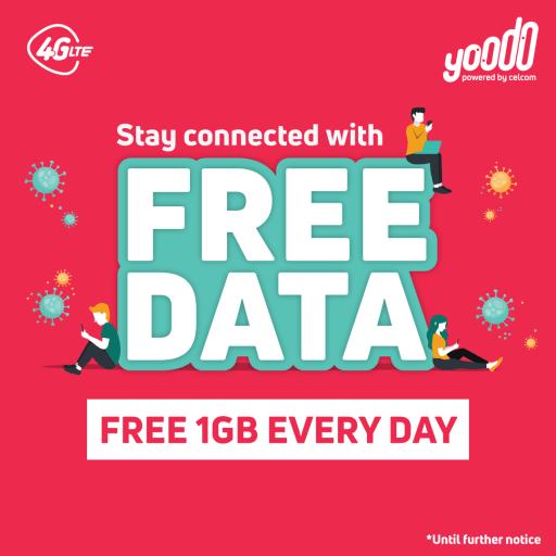 yoodo free internet