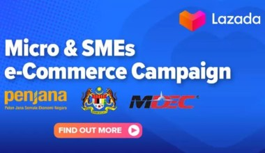 lazada msme e-commerce campaign featured
