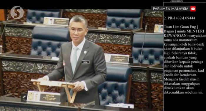 tengku zafrul parliament session