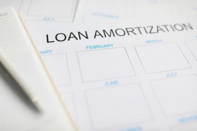 loan amortisation