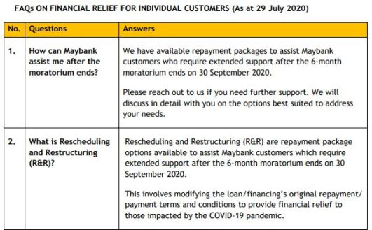 maybank repayment assistance package 1