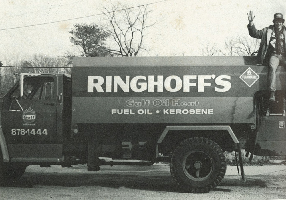 old Ringhoff oil truck