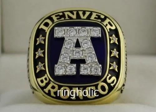1990 Nfl Afc Championship Ring