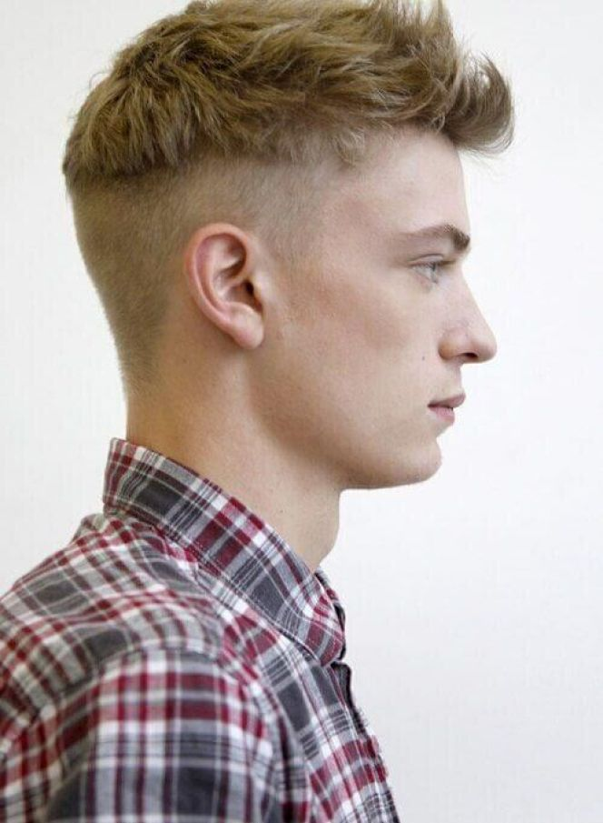 Disconnected Fade Hairstyle For Men