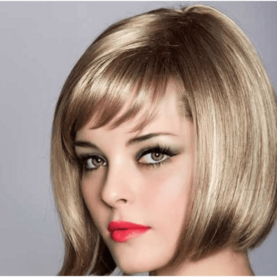 Short Bangs Hairstyle For Women