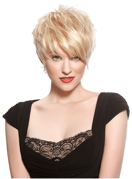 Short Textured Hairstyle For Women