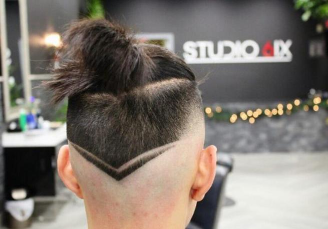Brushed Back Low Fade