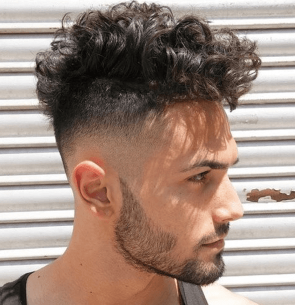 Cool Top Curls Hairstyles For Men