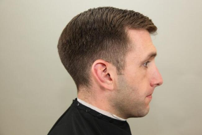 Traditional Low Fade and Tapered