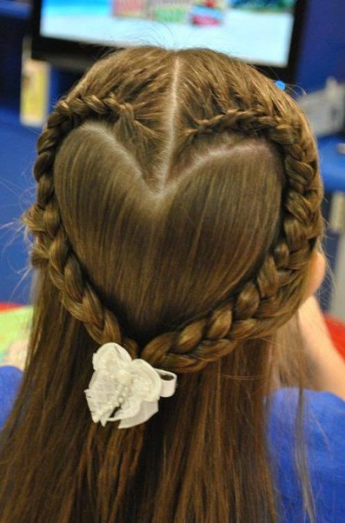 Heart Shaped Braids and Cornrows