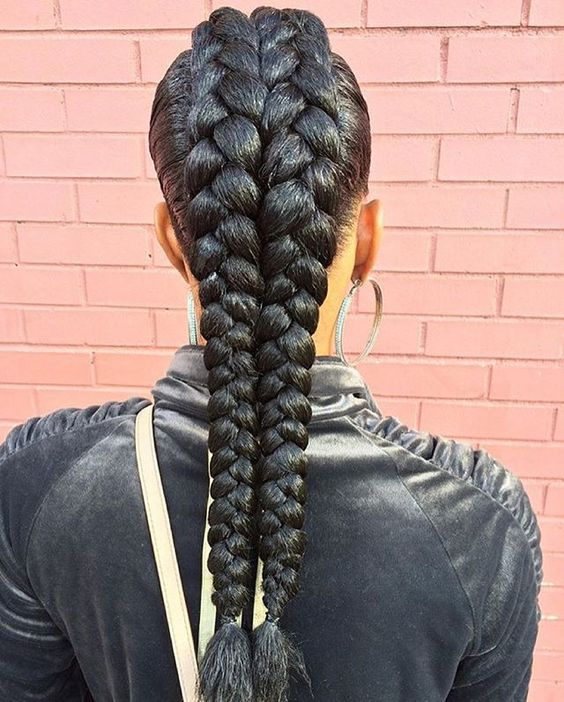Jumbo French Braid
