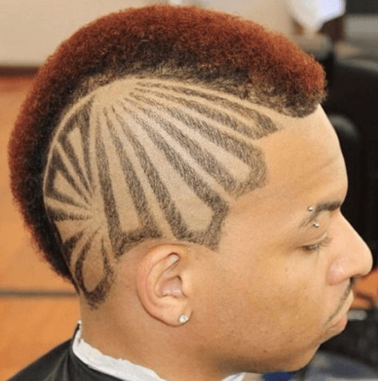 Mohawk Style with Designs