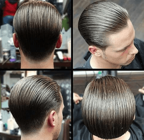 Slick Back Comb Over