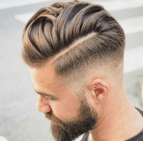 Tight Crop Comb Over