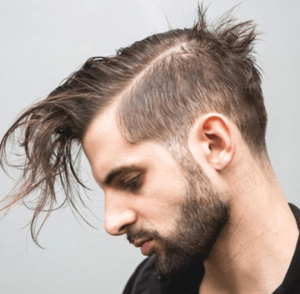 Long Bed Head Hairstyle