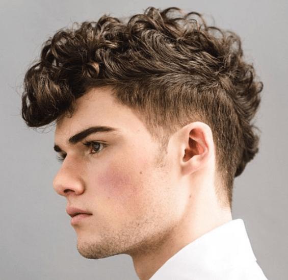 Faux Haux  Curls Disconnected Undercut