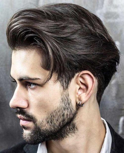 Quiff Ivy League Haircut