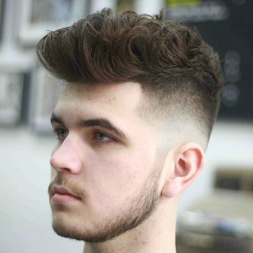 Skin Fade with Quiff