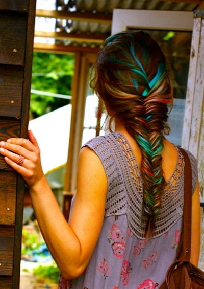 Cool Colorful Braid