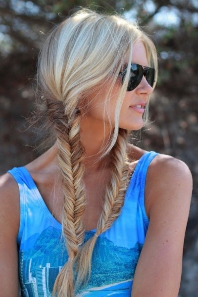 Lovely Fishtail Braids