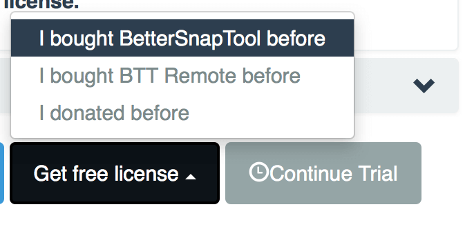 Better Touch Tool アクティベート 3