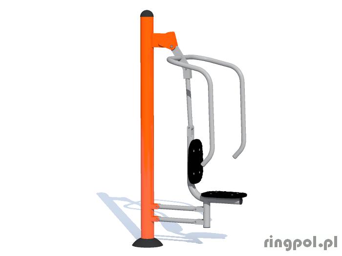 Siłownia zewnętrzna - Krzesełko do wyciskania
