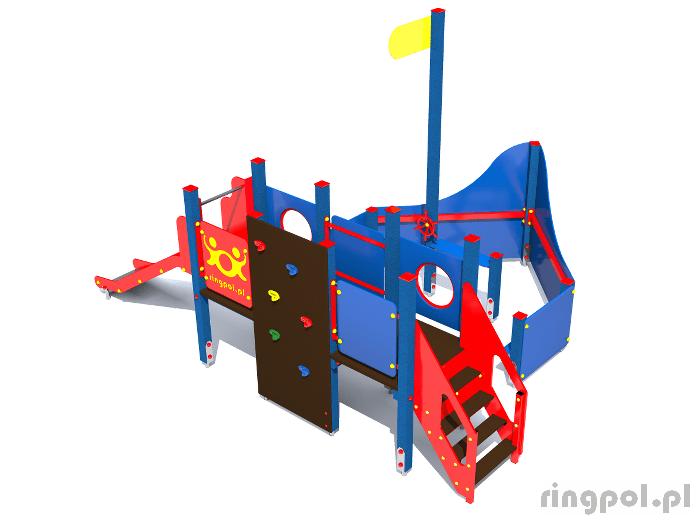 Plac zabaw dla dzieci - Statek mały