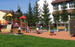 Plac zabaw gmina Łososina 2012 r.