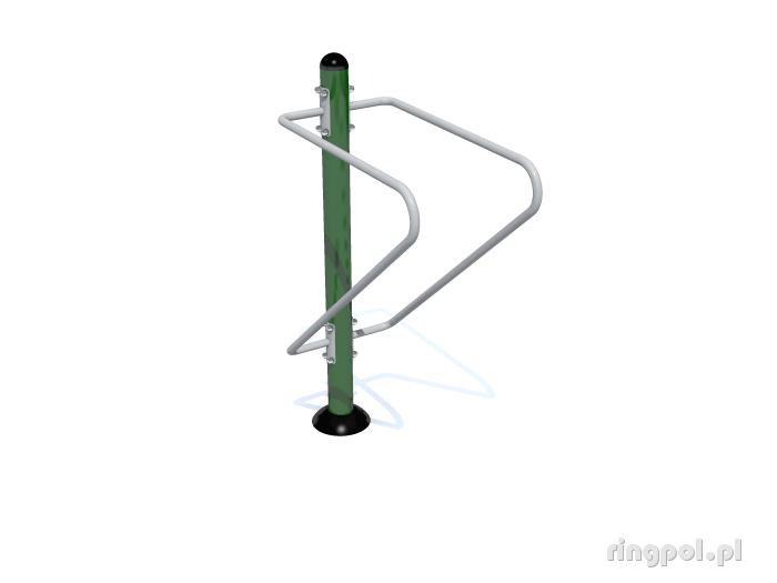 Siłownia plenerowa Drążki równoległe ZPJ-25-solo